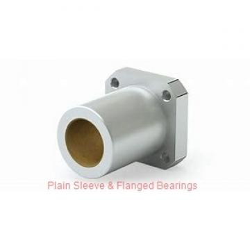 Oilite AA4856-03 Plain Sleeve & Flanged Bearings